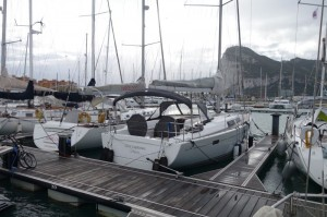and we made it to Gibraltar, after two engine failures that needed to be repaired a sea...