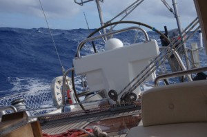 Bigger seas, some action and...